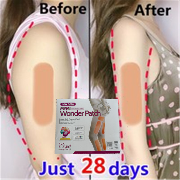 18pcs Mymi Wonder Slim Patch For Legs Arm Slimming Weight Loss Anti Cellulite Patchs Fat Burner Leg Slim Face Lift Tool