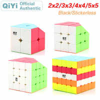 QiYi 2x2x2 3x3x3 4x4x4 5x5x5 Magic Cube 2x2 3x3 4x4 5x5 Neo Speed Cube Puzzles Antistress Fidget Educational Toys For Children