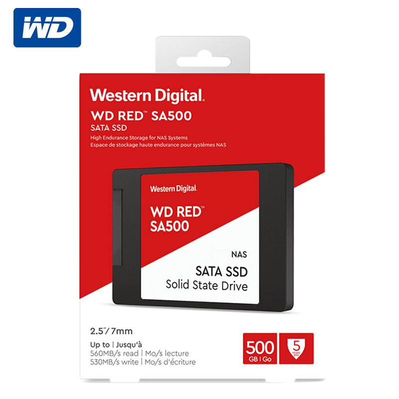 Western Digital Red <font><b>SSD</b></font> SA500 NAS SATA <font><b>500GB</b></font> 1TB 2TB 4TB <font><b>WD</b></font> <font><b>SSD</b></font> Western Digital 2.5