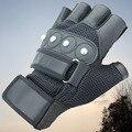 Дышащие впитывающие пот сетчатые перчатки с четырьмя ручками для интенсивной терапии  спортивные перчатки для улицы  перчатки с полупальца...