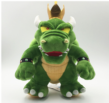 "Super Mario Bros peluche rey Bowser Koopa 12 ""Boss Cartoon peluche muñeca suave(China)"