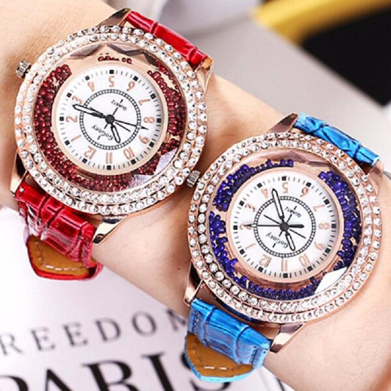 Luxury Brand Women's Watch Ladies Fashion Watch Women Leather Quartz Wristwatches Clock Relogio Feminino Masculino Reloj Mujer