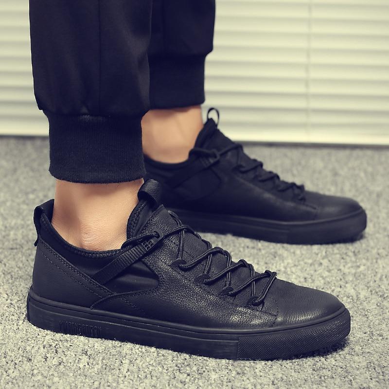 casual Sneakers fashion Black Gray