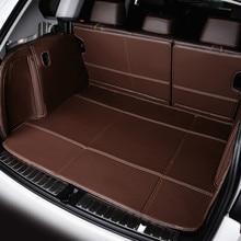 цена на Full Covered Waterproof Boot Carpets Durable Custom Special Car Trunk Mats for BMW X1 X3 X4 X5 X6 Z4 I8 M3 M4 M5 M6 I3 X5M X6M