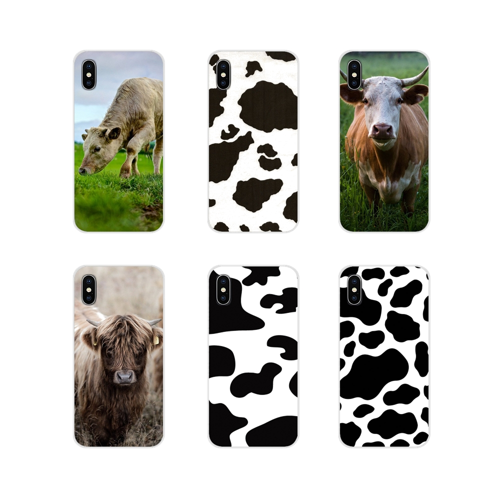 Cow For Huawei Y5 Y6 Y7 Y9 Prime Pro GR3 GR5 2017 2018 2019 Y3II Y5II Y6II Accessories Phone Cases Covers