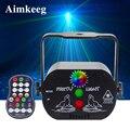 USB opladen podium licht kerstverlichting laser projector ingebouwde batterij voice control disco DJ bar KTV familie party Lamp