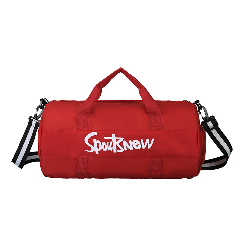 Купить с кэшбэком Sports Handbag Yoga Wet and Dry Separation Fitness Bag Nylon Travel Bag Shoe Bag Clutch Shoulder Messenger Bag Custom