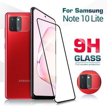 Перейти на Алиэкспресс и купить Защитное закаленное стекло для Samsung Galaxy Note 10 lite Защитная пленка для объектива камеры для galaxy s10 note10 lite 9h