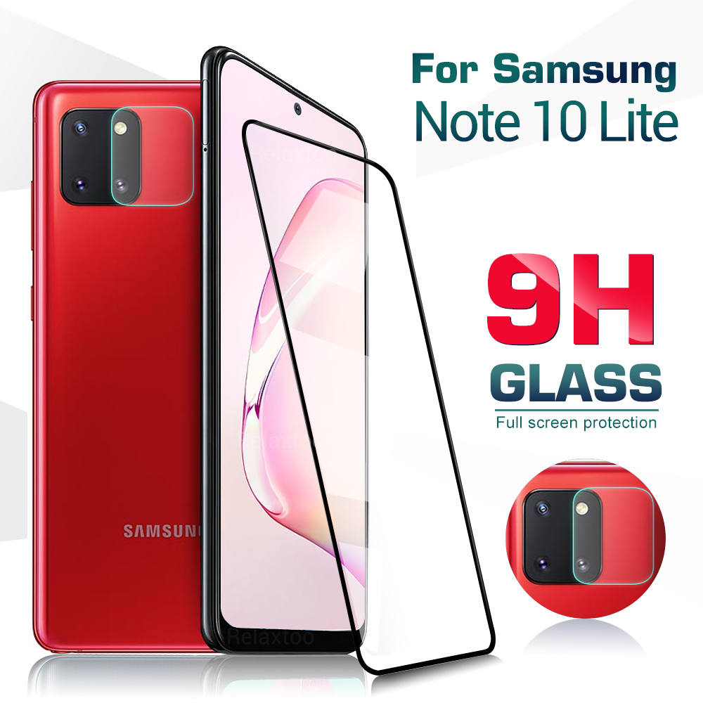Protective Tempered Glass On The For Samsung Galaxy Note 10 Lite Camera Lens Screen Protector For Galaxy S10 Note10 Lite Film 9h