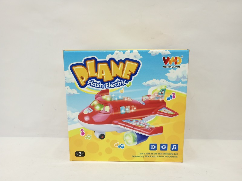Children Electric Universal Toy Baby Music Flash Airplane Universal Helicopter Model Stall Hot Selling