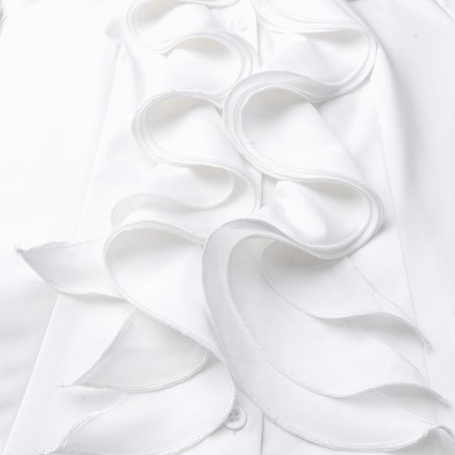 Long Sleeve Ruffles Top 5