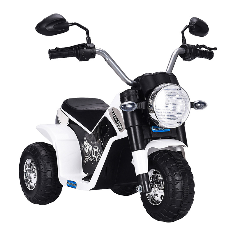 Electric Kid Ride On Motorcycle Toys Children Battery Powered Three Wheel Bicycle Outdoor Baby Play Car Toy With Headlight T0852