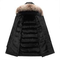 30 Degree Snow Cold Winter Jacket Men Thicken Fleece Hooded Parka Coat Men Warm Jackets Windbreaker Coats Plus Size M 5XL