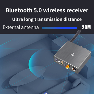 Image 3 - DAC Decoder Adapter Bluetooth 5.0 Receiver Audio Amp U disk Player KTV microphone Adapter Optical Coaxial To Analog Converter