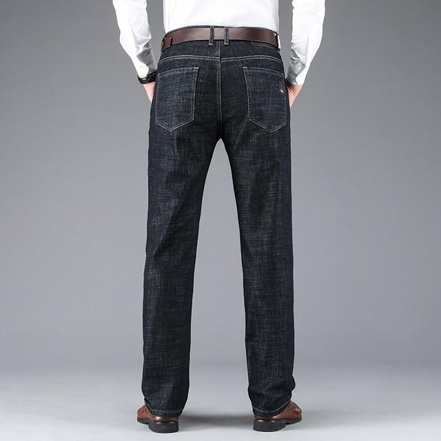 Men's Classic Business Denim Jeans 3