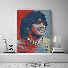 Hd wydrukowano argentyna piłka nożna gwiazda futbolu film plakat na płótnie ściana drukowany obraz malarstwo ścienne obraz do salonu ramki