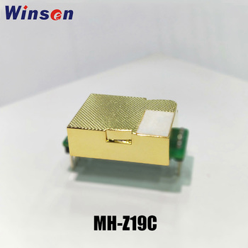 2 sztuk Winsen CO2 czujnik MH-Z19C NDIR CO2 moduł wysokiej czułości niskie zużycie energii UART PWM wyjście długa żywotność złota komora