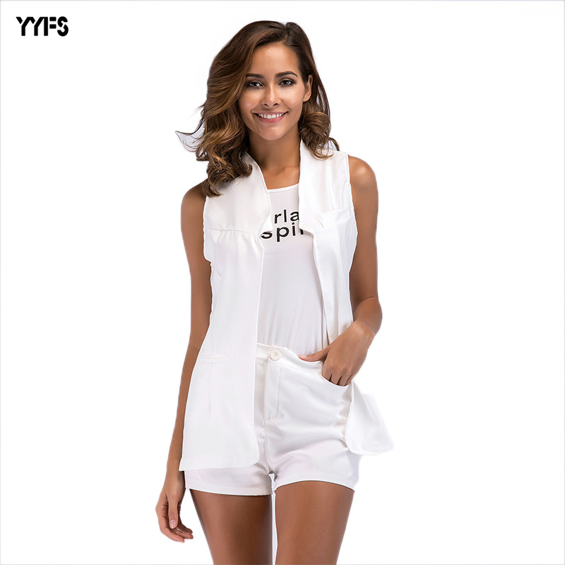 Manufacturers Direct Selling Europe And America New Style Set Summer Wear For Women Fashion 2019 Slim Fit Business Elegant WOMEN