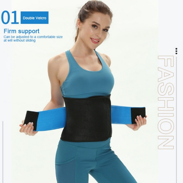 Waist Trainer Women-Waist Cincher Trimmer, Back Support Sweat Crazier Slimming Body Shaper Belt-Sport Girdle Belt For Weight Los 2