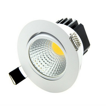 Wholesale price Dimmable LED Downlight COB7W 10W  12W 15W Dimming Spot Light Ceiling Recessed Lamp Lighting AC85-265V CE ROHS