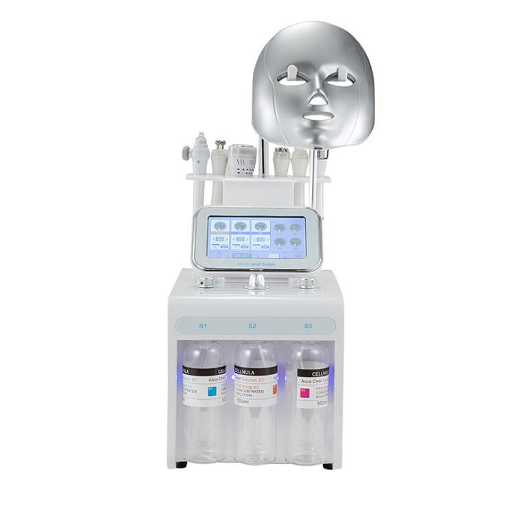Newest Hydro 8 In 1 H2O2 Portable Facial Peel Oxygen Concentrator Beauty Machine