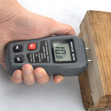 LCD 0-99.9% 2Pins Wood Industry Digital Moisture Meter Humidity Tester Timber Damp Detector Large LCD Display стоимость
