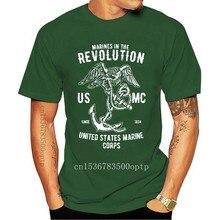 U.S. Marines Revolution- Retro US Air Force Marines Mens T-Shirt Gift Top