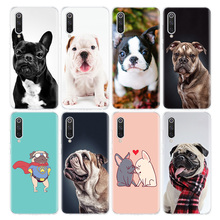Bulldog Puppies dog Phone Case For Xiaomi Redmi Note 9s 8T 8