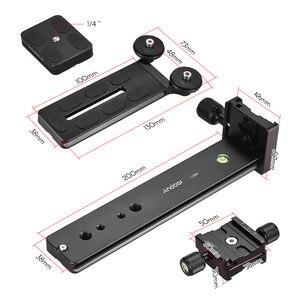 Image 5 - Andoer L200 Telephoto Lens Support Long Lens Holder Bracket Compatible for Arca Swiss Sunwayfoto RRS Benro Kirk Markins Mount