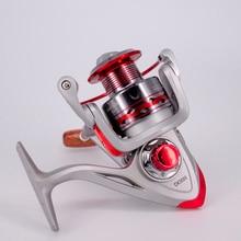 цена на Fishing Spinning Reel 12+1BB 5.2:1Gear Ratio 1000-7000 Series Saltwater Carp Fishing Reels Metal Front Drag Handle Fishing Wheel