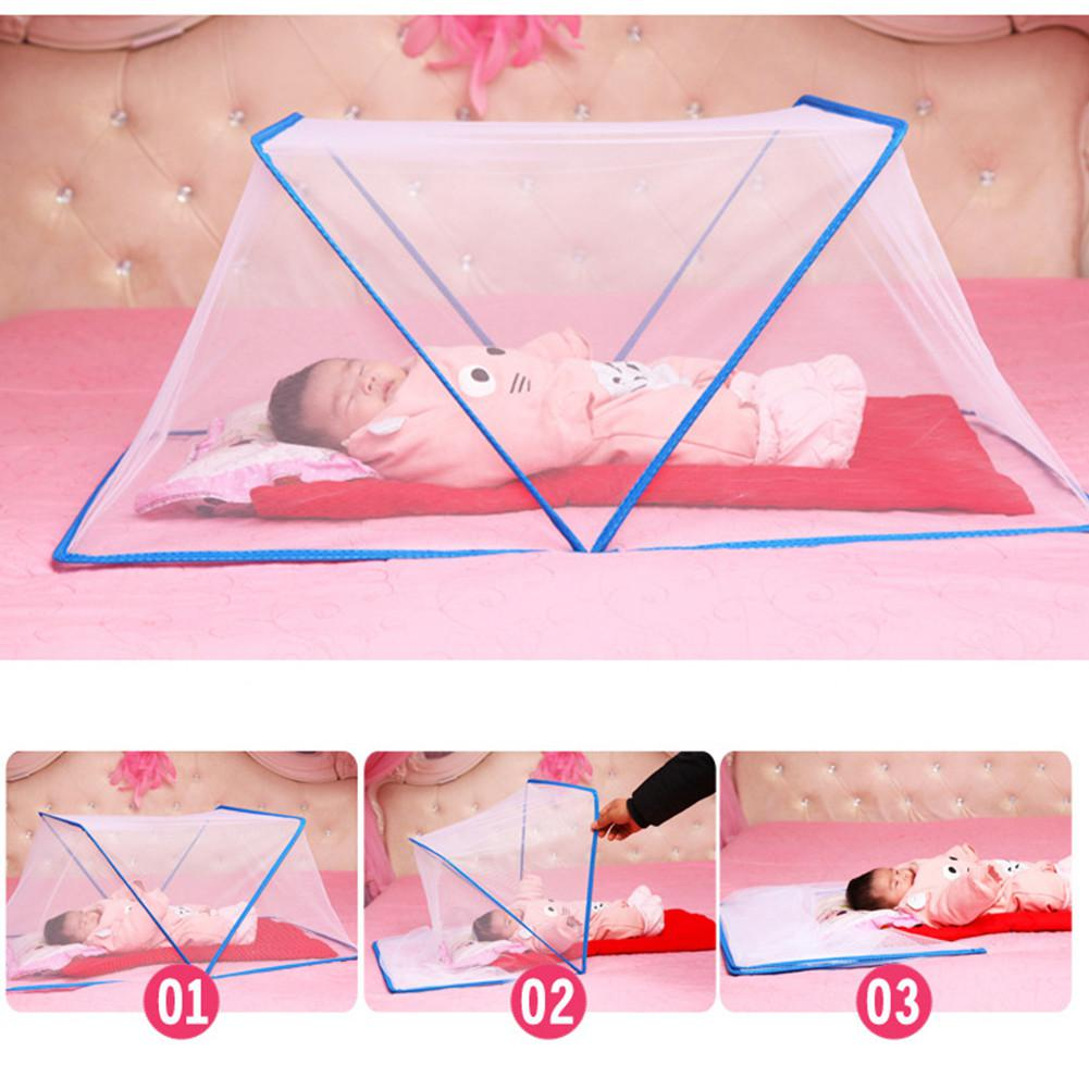 Kidlove Baby Mongolian Yurt Mosquito Curtain Folding Without Installation Mosquito Nets