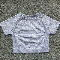 0207 Gray Short Top