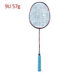9U carbono profesional bádminton raqueta ultraligero 57G velocidad fuerza Rqueta Padel 30-32 LBS libre cuerdas bolsa Original