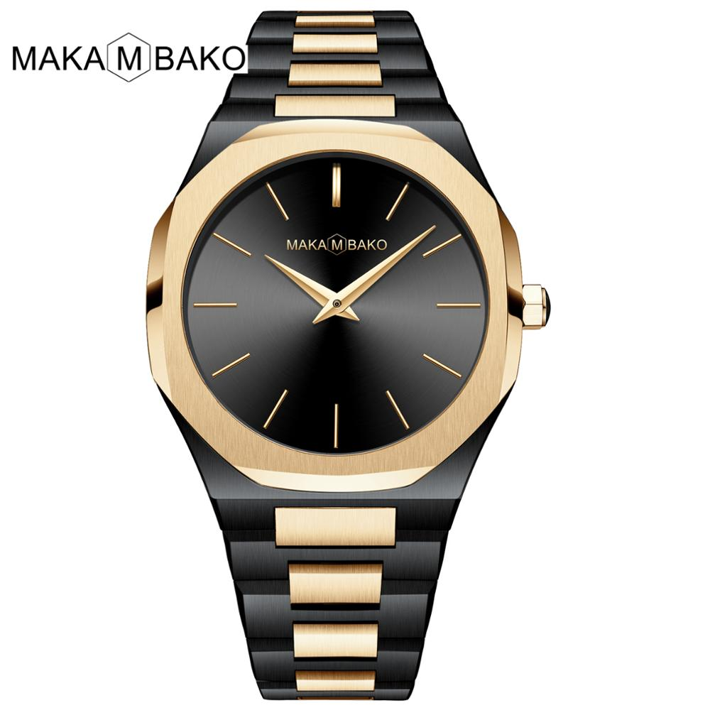 Japan Movement High Quality Waterproof Stainless Steel Ladies Top Luxury Brand 2020 New Gold Black Square Women Wrist Watches