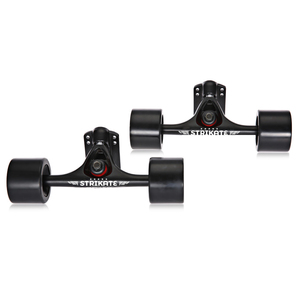 Image 5 - 7inch Longboard Truck with 70mm Wheels Complete 6mm riserpad 35mm hardware T tools Combo
