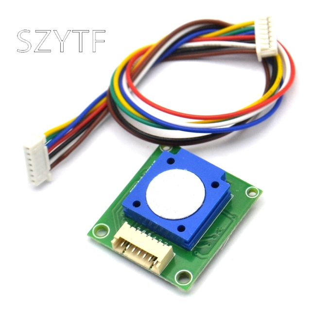 ZE25 O3 Ozone Sensor Module Gas Sensor DetectIng O3 Ozone UART/Analog Voltage/PWM Wave 3.7 5.5V
