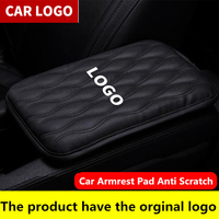 Car Armrest Box Pad Universal Armrest Comfortable Central Hand Pad Protection Cushion For lincoln logo navigator town mkz cent|Armrests|Automobiles & Motorcycles -