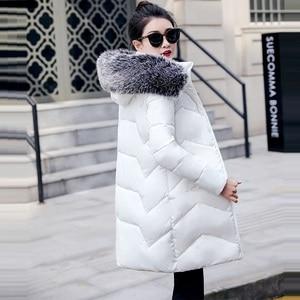 Image 4 - 2019 veste dhiver femmes épais neige porter hiver manteau dame vêtements femmes vestes Parkas