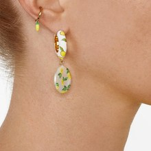 Simple Korean Girl Cute Earrings Bohemia Chili Lemon Fruits Small For Women Accessories Jewelry