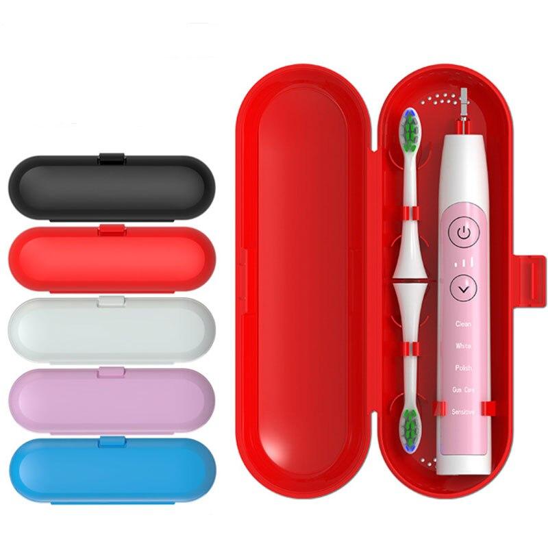 1pc titular escova de dentes portátil acessórios do banheiro escova de dentes elétrica caso titular caixa de armazenamento de viagem organizador dropshipping