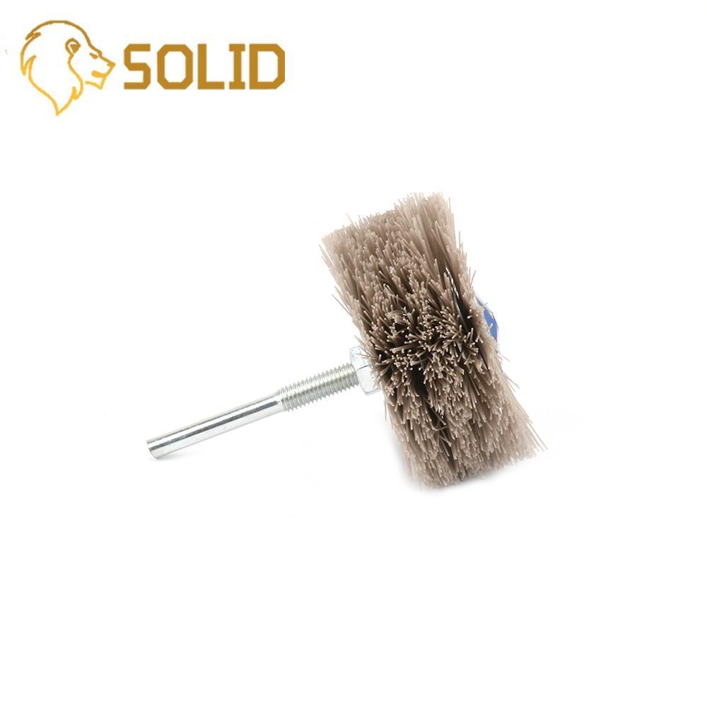 Abrasive Wire Grinding Wheel Abrasive Polishing Wheel Brush For Wood Furniture Mahogany 320/400/600# Grit 3Pcs/Set