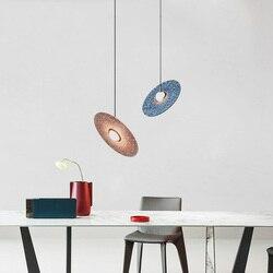 LED postmodernistyczne Nordic żelaza szklane bańki projektant lampa LED światła LED. Lampy wiszące. Lampa wisząca. Lampa wisząca do jadalni w Wiszące lampki od Lampy i oświetlenie na