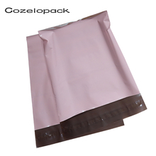 10pcs Light Pink Poly Mailer Self Adhesive Post Mailing Package Mailer Glue Seal Postal Bag Gift Bags Courier Storage Bags