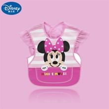 Apron Reverse-Dress Minnie Mouse Mickey Waterproof Baby Eating Children's Cartoon 28x35cm