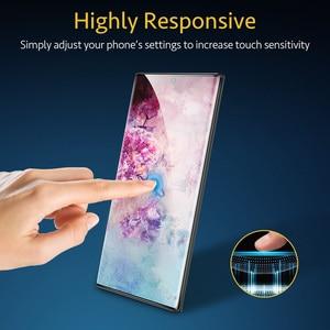 Image 5 - Esr 2 pçs protetor de tela para samsung galaxy note 10 vidro temperado cobertura completa película protetora para samsung note 10 plus 5g vidro