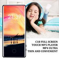 Touch ScreenMP3 Mp4 Player 8G 16G Sports 3.6 Inch Screen HD Lossless Music Player