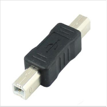 100PCS/ USB adapter B revolving B public printer adapter USB2.0 B Male to B Male