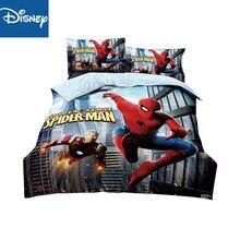 Набор постельного белья для мальчиков с изображением Человека-паука, набор постельного белья для спальни, пододеяльники, 150x200 см, 2-4 шт