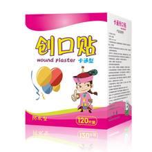 120 pçs/caixa dos desenhos animados band-aid bonito mini crianças respirável bandagem à prova dok água ok ataduras remendo hemostático
