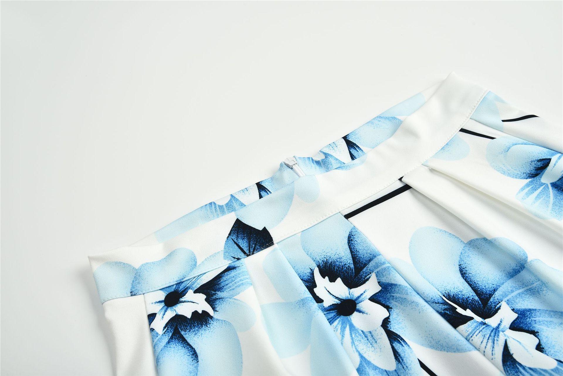 impressão sexy tubo de orvalho umbigo topo shorts outfit